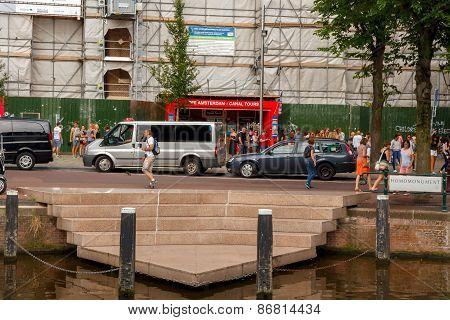 Amsterdam. Homomonument.