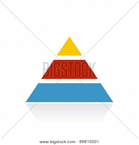 Color Pyramid Icon