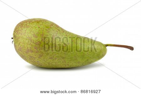 Single Green Ripe Pear