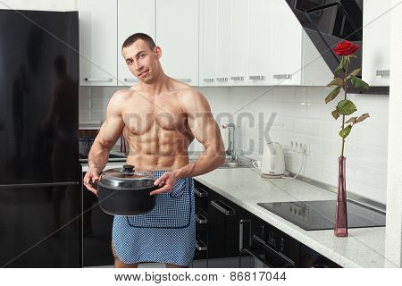 Man With A Saucepan.