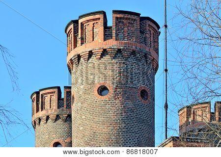 Tower Friedrichsburg Gate. Kaliningrad (formerly Koenigsberg), Russia