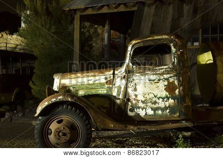 Old Truck - Light Painted