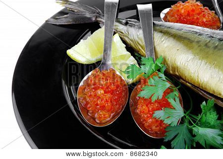 Smoked Fish And Caviar