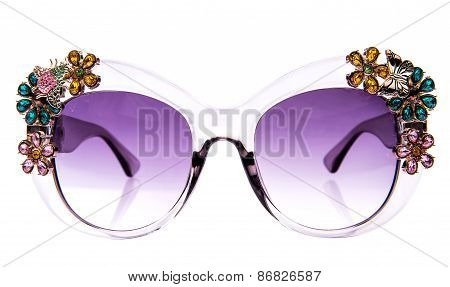 Decorated With Rhinestones glasses