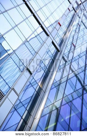 Modern office building - abstract background