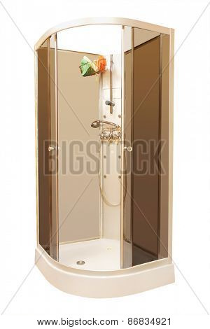 New beautiful shower cubicle