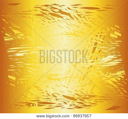 Grunge background texture stucco of ochre color