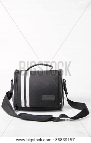Bag For Camera On A White