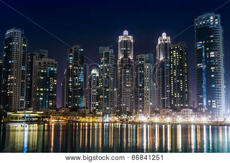 Dubai Downtown. East, United Arab Emirates Architecture