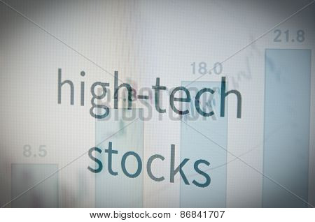 High-tech stocks