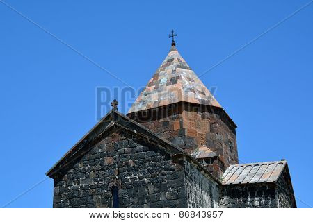Part Of Sevanavank Church, Sevan Lake