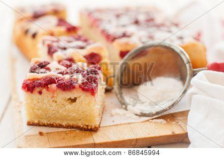 Raspberry And Yogurt Cake