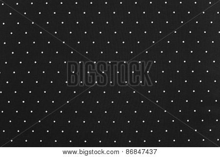 Background Of Black Color With Round Specks