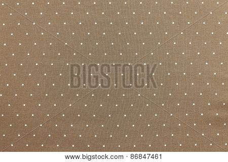 Background Of Sepia Color With Round Specks