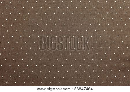Background Of Brown Color With Round Specks