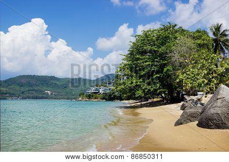 Guiet Sea Wave Sand Beach