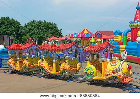 Children Attraction Train.