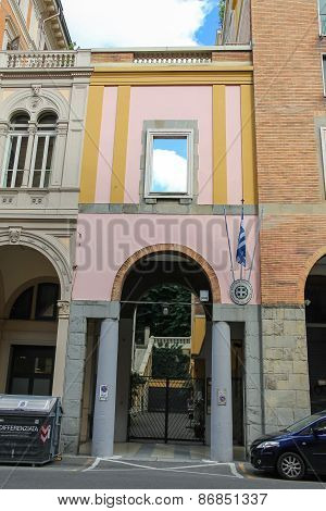 Building Consulate Of Greece In Italy. Bologna