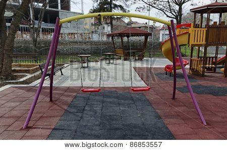 Beauty equipment an open-air kindergarten