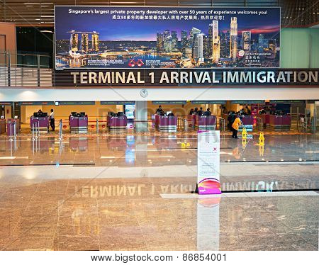 Airport Immigration Control