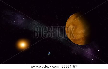 Space Journey To Mars