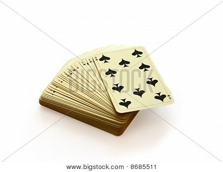 Deck Of Playing Cards.