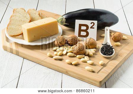 Foods Containing Vitamin B2