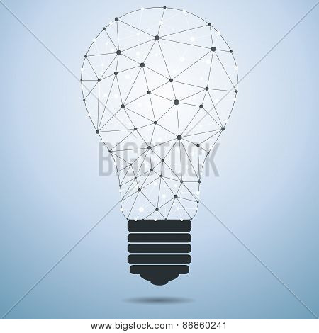 Technology Idea Bulb