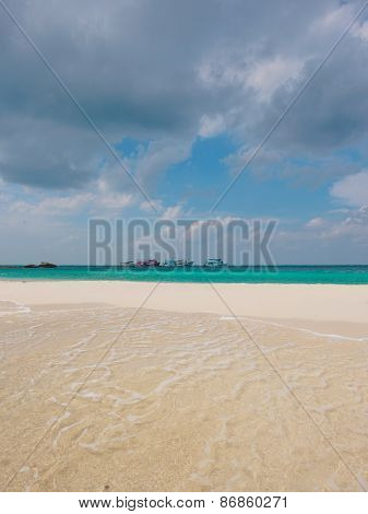 Beautiful beach of Koh Samui in Thailand