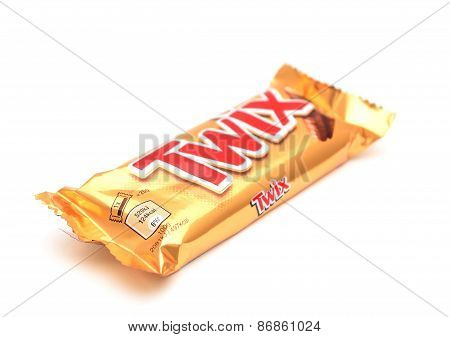 Wrapped Twix Candy Bar