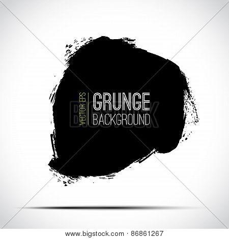 Abstract vector grunge background, Grunge design element, Grunge