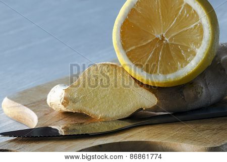 lemon and giner
