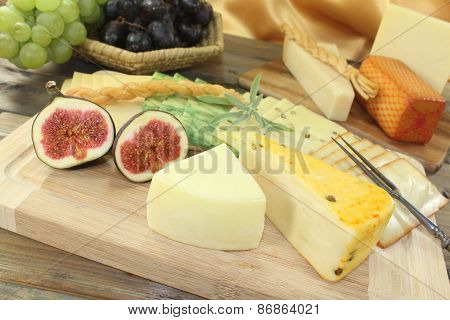 Great Variety Of Cheeses