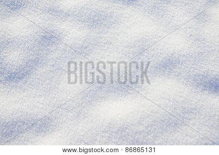 pattern of fresh powder snow