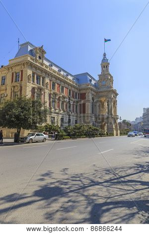Building Of The Baku City Hall