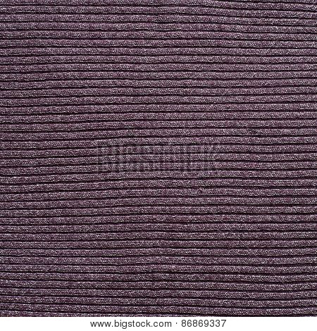 Striped violet cloth