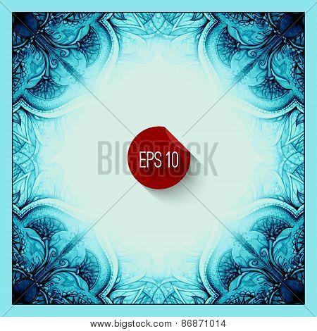 Vector vintage stock illustration. Vector vintage decor. Islam,