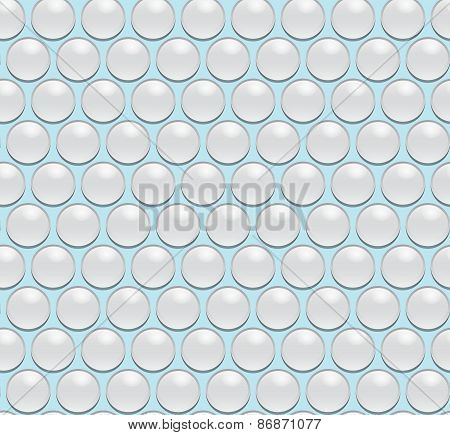 Seamless vector water drops