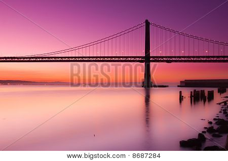 Bay Bridge, San Francisco, California.