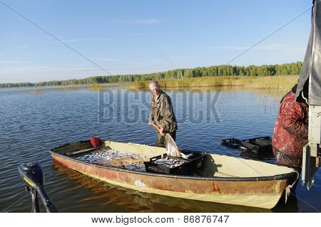 Fishermen, fishery