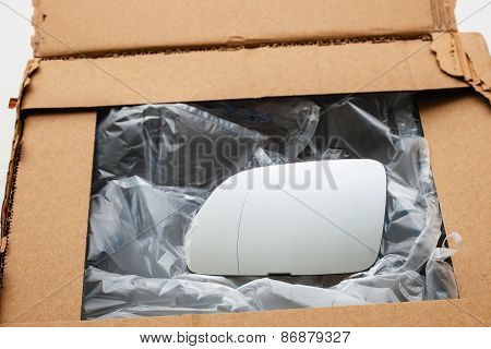 New Car Mirror In Box