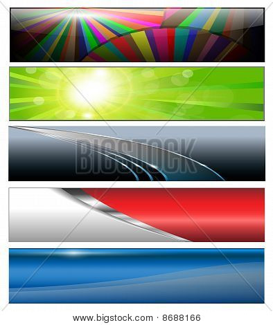 Banners, Headers