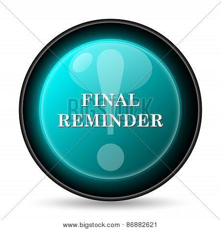 Final Reminder Icon