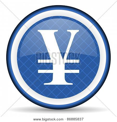 yen blue icon