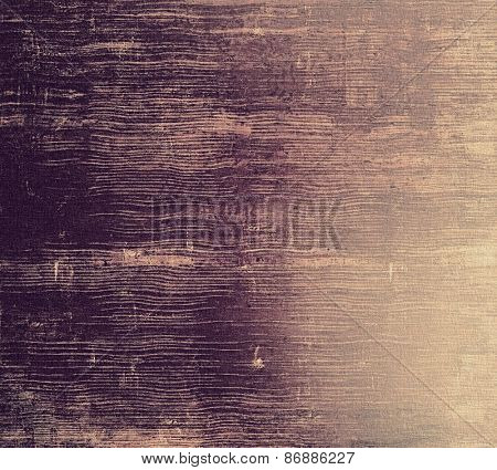 Abstract blank grunge background, old texture with stains and different color patterns: yellow (beige); brown; purple (violet)