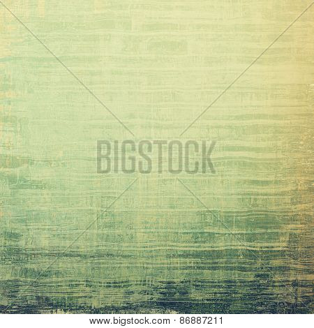 Grunge colorful texture for retro background. With different color patterns: yellow (beige); gray; green