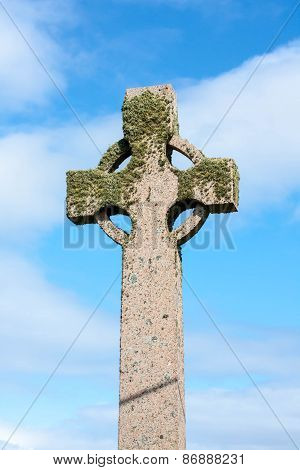 Celtic Cross, Iona Island, Scotland