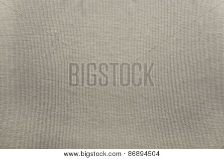 Small Corrugated Texture Fabric Of Beige Color