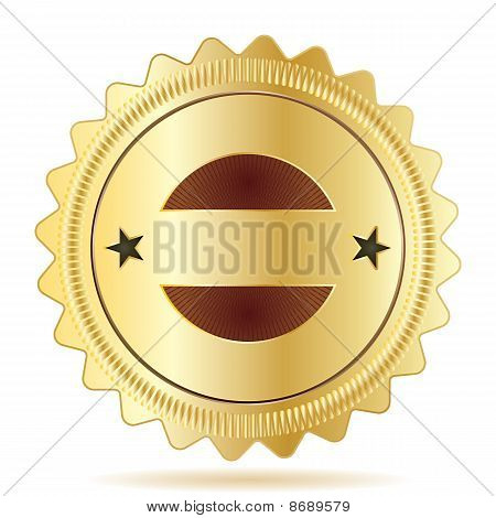 Vector Guarantee Badge Template