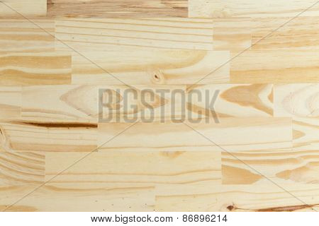 Light Wood Background With Decorative Grain